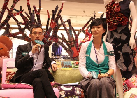 Sharing from the Vice Chairman of Sustainable Fashion Business Consortium-  Mr. Anderson Lee on 09.Nov.2012 at Telford Plaza in Hong Kong.